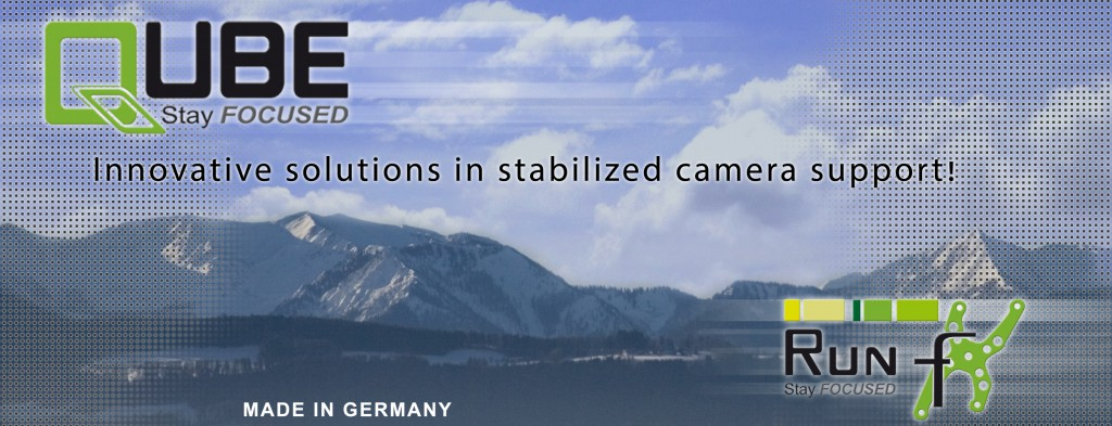 Innovative solutions in stabilized camera support!