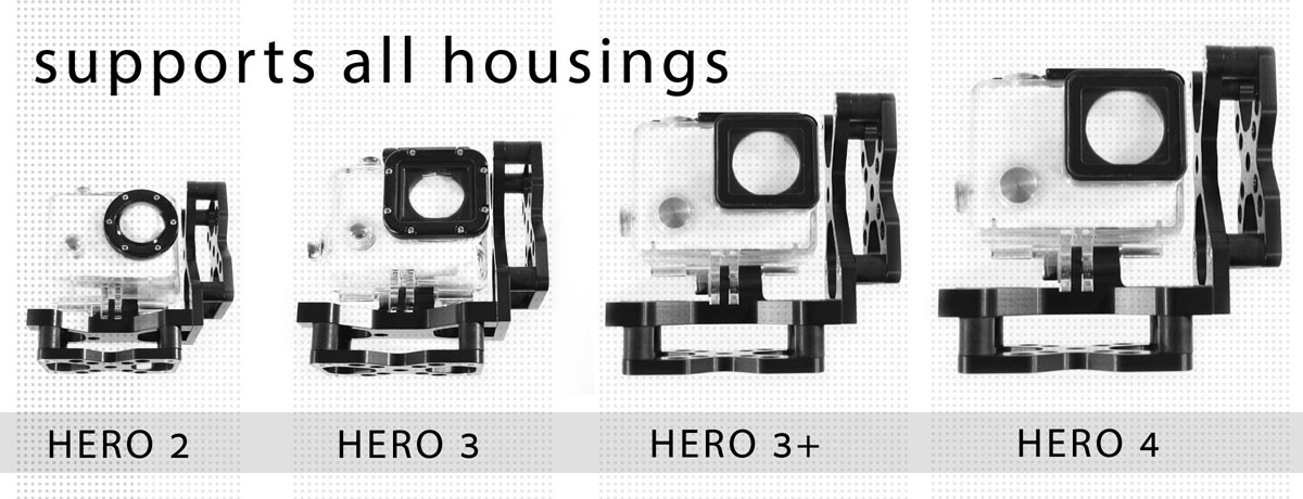 RUN fX supports all GoPro housings