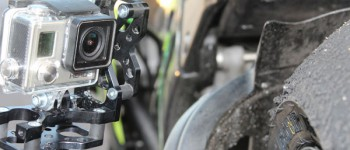 RUN fX mounted on a Kawasaki ZX 10r super race bike